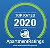 Apartment Ratings 2020 award badge