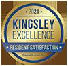 Kingsley 2021 award badge